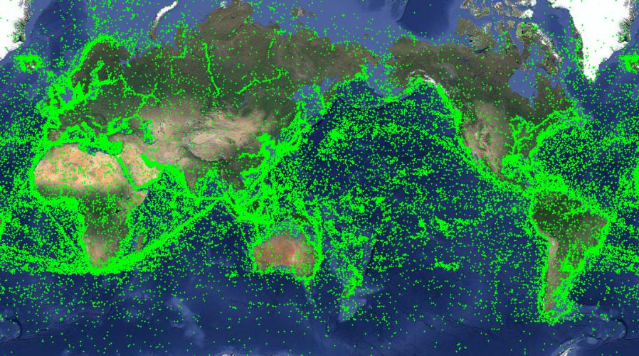 船位船讯网_亿海蓝旗下船讯网卫星已升至60颗 数据质量再度升级